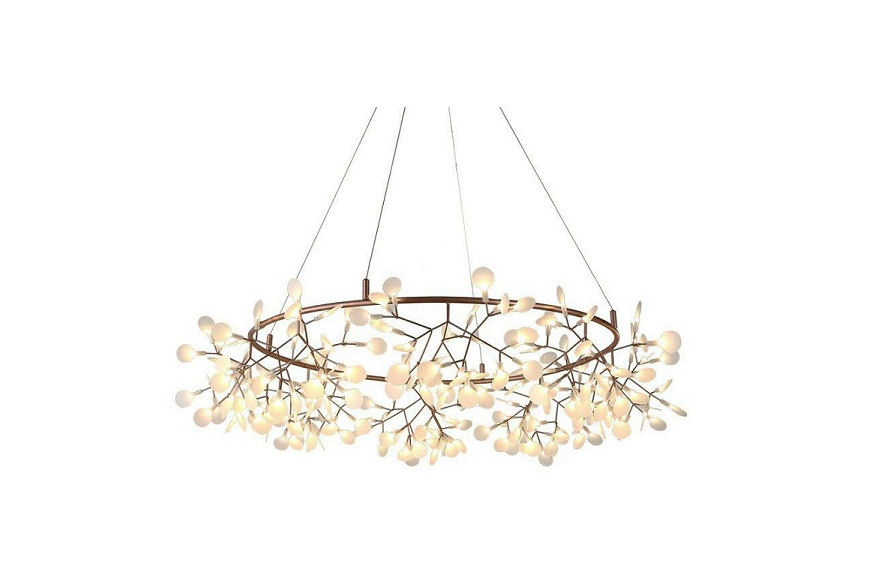 Modernity in the style of Moooi Heracleum - romantic hanging lamps